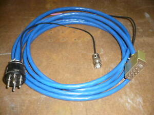 Ion-gauge-tube-cable