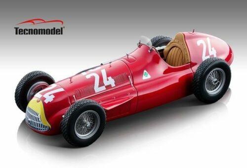 TECNOMODEL TMD18147C ALFA ROMEO ALFETTA 159 M N.24 WINN.SWISS GP 1951 FANGIO 1:1