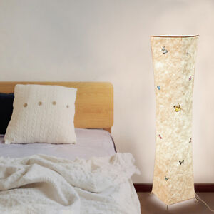 wholesale dealer 534e2 99302 Details about LED Slim Fabric Lamp Soft Light Floor lamp With Warm White +  2 Smart Bulbs
