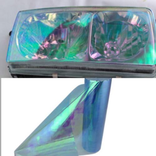 30x150cm Gloss Smoked Clear Headlight Fog Tail light Tint Vinyl Film Wrap Sheet