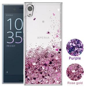 For-Sony-Xperia-1-10-Plus-XA2-Ultra-XZ3-Liquid-Glitter-Quicksand-TPU-Cover-Case
