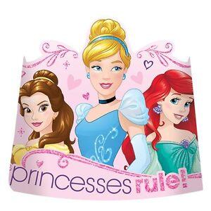 Disney Princess 'Dream Big' Birthday Paper Princess Tiara ...