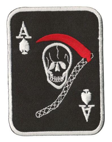 Patch écusson patche As de Pique thermocollant Ace of Spades insigne