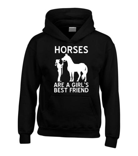 Edward Sinclair Horses are a Girls Best Friend Hoodie