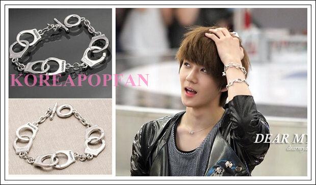 EXO EXO-K KPOP SE HUN SEHUN ALLOY BRACELET with Gift BOX NEW