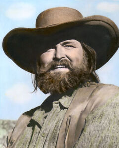 "GREGG PALMER BIG JAKE 1971 HOLLYWOOD ACTOR 8x10"" HAND COLOR TINTED PHOTOGRAPH"