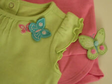 NWT Gymboree Palm Spring Butterfly Aline Top Pant Girls 2pcs Set Outfits sz 4