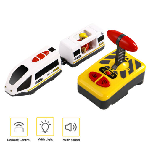 STOBOK Electric Train toy Children Funny RC Train Model Toy Educational Toy for