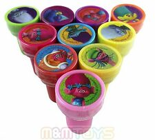 30x DreamWorks Trolls Poppy and Friends Self Ink STAMPS Birthday Party Favors