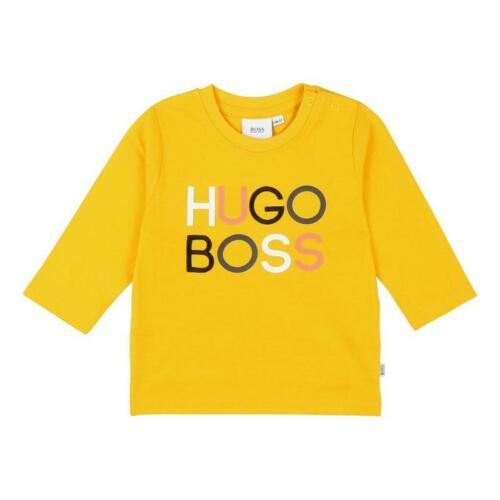 Amarillo MRP £ 39 Logotipo de Hugo Boss Niños manga larga superior j05743//536 £ 45