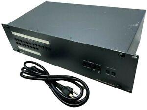 Extron Series Digital Crosspoint Switcher - TESTED w/ POWER CORD + WARRANTY!!