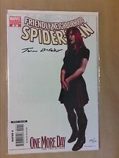 RARE COMICS / FRIENDLY NEIGHBORHOOD SPIDERMAN #24 VARIANT /SIGNE PAR TOM DEFALCO