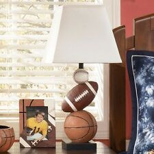 Signature design by ashley l815714 sports table lamp brown ebay ashley signature design nyx sports table lamp in brown orange and hardback shade mozeypictures Images