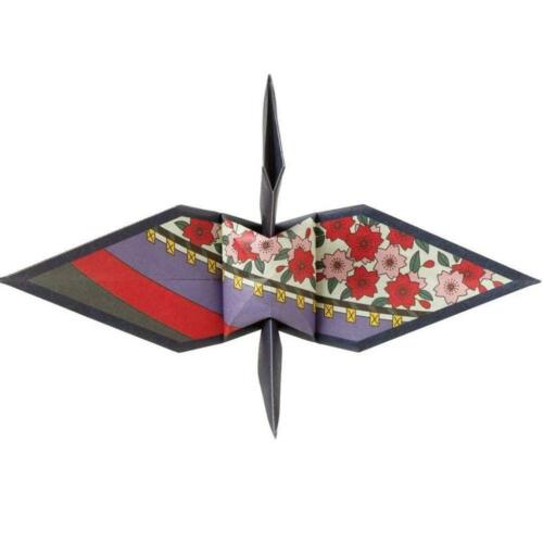 Toyo Origami Paper Hanafuda Orizuru 48 Sheets 150mm 006201 MADE IN JAPAN
