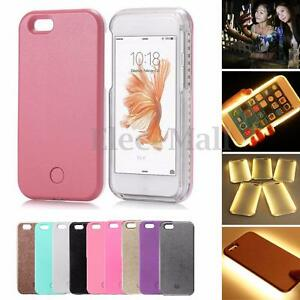 For-iPhone-5-6-6SPlus-7Plus-LED-Light-Up-Selfie-Luminous-Phone-Cover-Case-Luxury