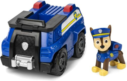 Jouet Enfant Voiture Véhicule Police Paw Patrol Bleu Sauvetage Urgence Mission