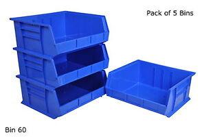 Rhino Tuff Bin 60 Plastic Parts Storage Bins Strong Garage