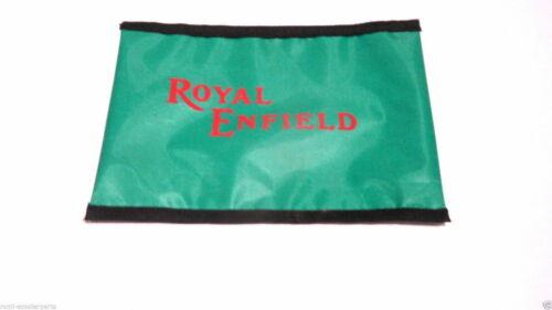 N-1383 Royal Enfield Werkzeugtasche Grün mit Reißverschluss