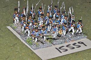 15mm Napoléon / Français - Infanterie 24 Figs Inf (15559)