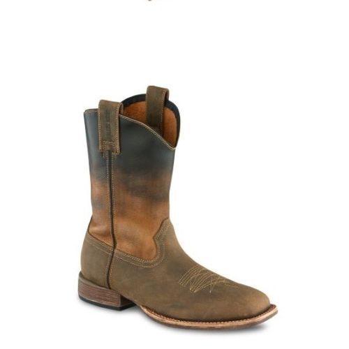 Nuevo rojo Wing Irish Setter para Hombre botas Marrón Deadwood occidental 4825