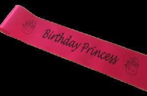 Celebration Personalised Children Birthday Sash Achievement Design Your Own