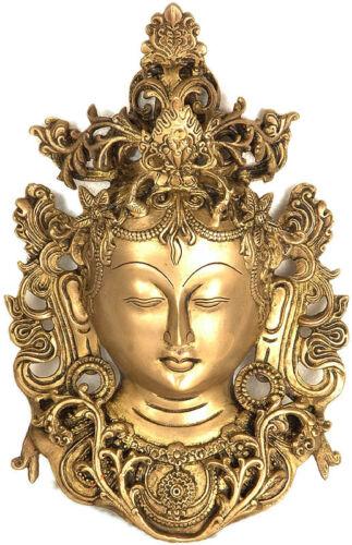 "Tibetan Buddhist Goddess Tara Hanging Wall Décor Mask 12/"""