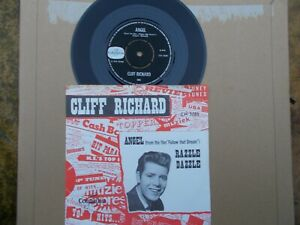 CLIFF-RICHARD-ANGEL-RAZZLE-DAZZLE-COLUMBIA-CH-3085-DUTCH-WITH-PICTURE-SLEEVE