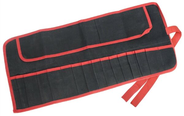 15 Pocket Tool Roll-heavy Duty Tela Resistente All'acqua