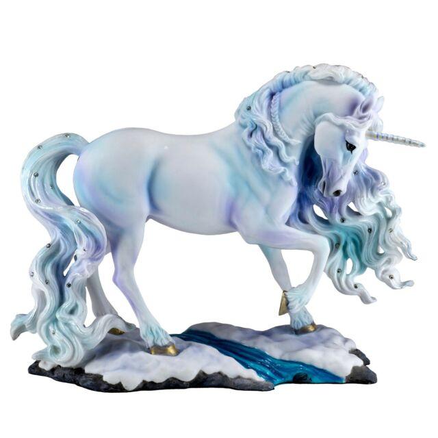 9.25 Inch Unicorn Standing Statue Fantasy Magic Figurine Collectible Sculpture