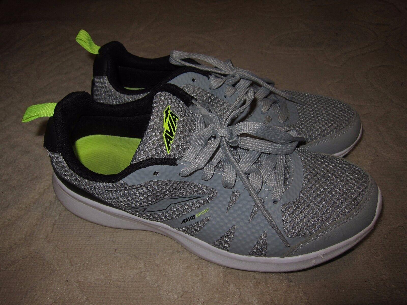 388300f8e63ce ... Avia Sport Capri gray   black men s men s men s athletic running shoes  sneakers