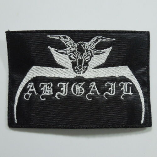 Embroidered Small Patch ABIGAIL Band Logo NEW