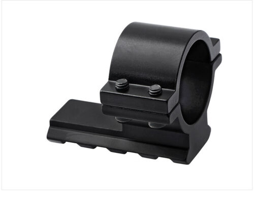 """Scope Barrel Mount 1/"""" 25mm Ring Adapter 20mm Weaver Picatinny Rail For Rifle"""