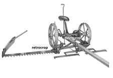 Ih Mccormick Deering No 7 Amp Big 7 Hay Sickle Mower Owners Parts Manual 2 Horse