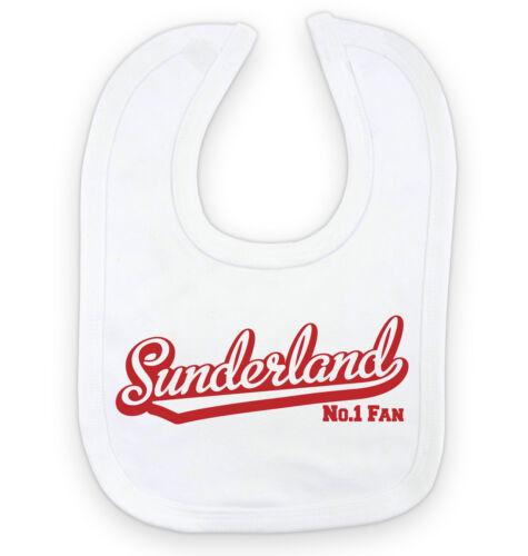 No.1 Fan SUNDERLAND Football Baby Bib