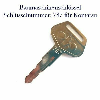 Minibagger #3 Baumaschinenschlüssel Nr H800 für HITACHI Bagger Radlader usw.,