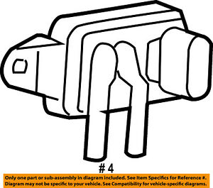 ford oem egr valve position sensor f77z9j460ab ebay 1996 Ford Aerostar Eddie Bauer image is loading ford oem egr valve position sensor f77z9j460ab