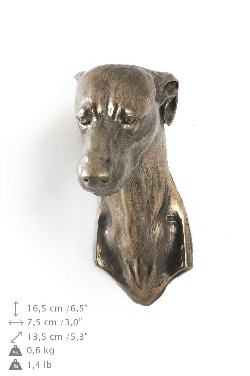 Whippet - type 2  dog figurine to hang on the wall, high quality, Art Dog