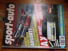 $$u Revue sport auto N°303 F1 Lotus  Ghinzani  Shelby Daytona  Alpine V6 Turbo