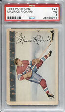 1953-54 PARKHURST #24 MAURICE RICHARD HOF PSA 3 Very Good