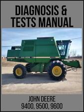 John Deere 9400 9500 9600 Combine Diagnosis Amp Tests Technical Manual Tm1402 Usb