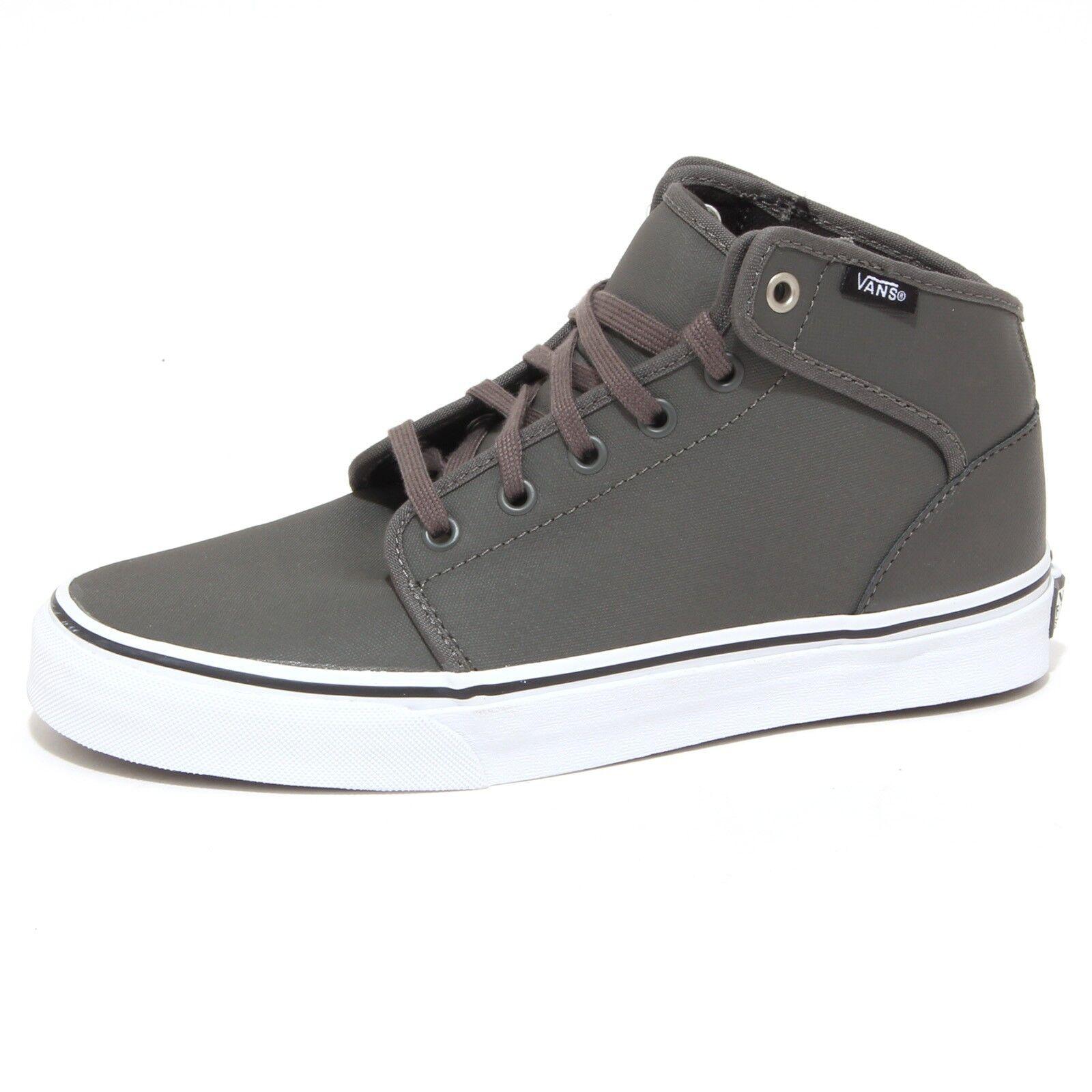 7856P sneaker uomo VANS 106 MID grigio shoe Uomo