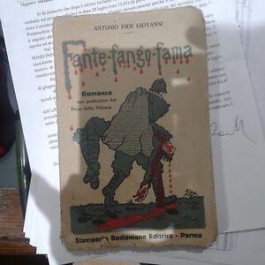 Fante-fango-fama-Antonio-Pier-Giovanni-Parma-post-1927-2-ed-Fonni