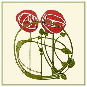 Rosas # 2-Gráfico de puntada cruzada contada