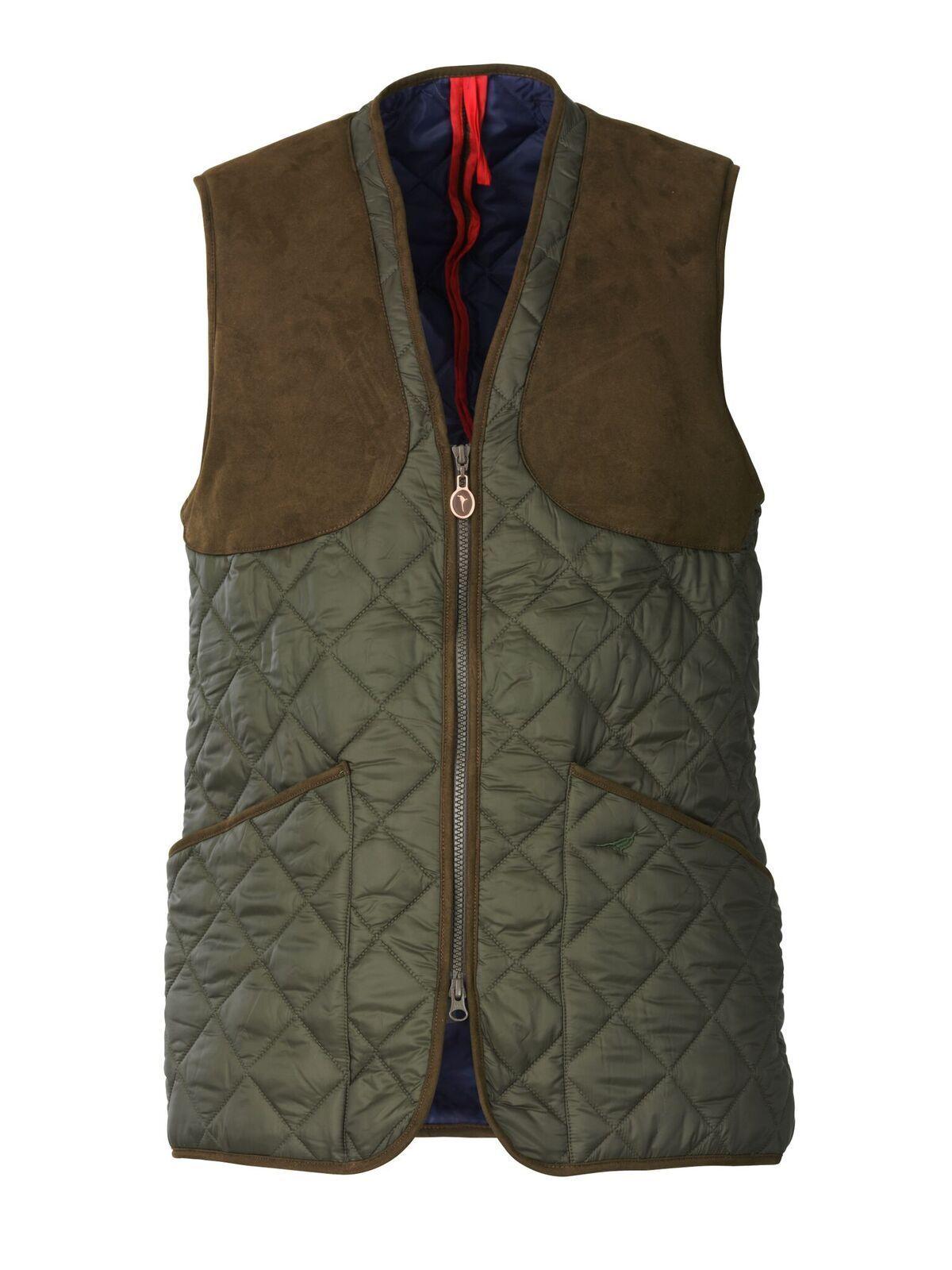 Laksen 5405 Ludlow Quilted Shooting Vest waistcoat