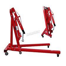 FoxHunter 1 Ton Hydraulic Folding Engine Crane Hoist lift Jack SX0103-2 Red