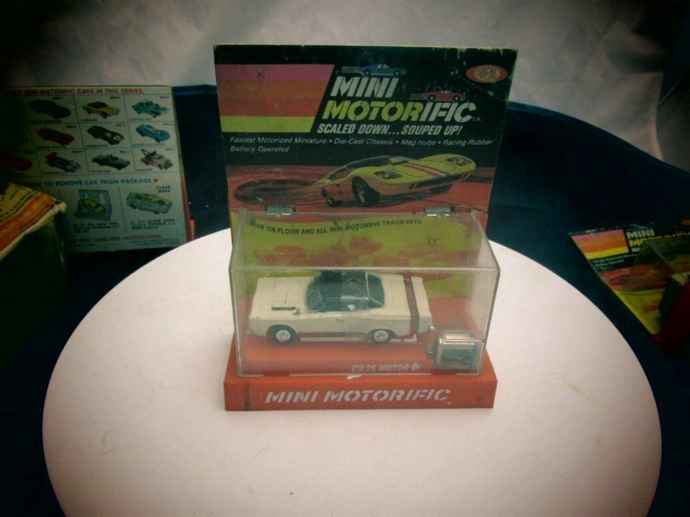 1969 IDEAL MINI MOTORIFIC PLYMOUTH GTX W MOTOR BRAND NEW IN BOX  2