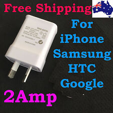 2a au usb Wall Charger power plug travel adapter For iphone 5 5S 6 6S Plus Ipad