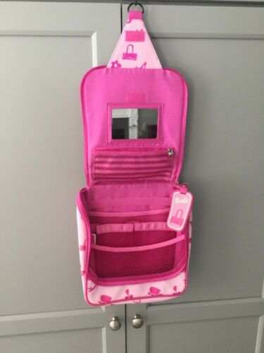 Barbie Hanging Travel Organizer Toiletries Bag Vinyl