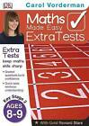 Maths Made Easy Extra Tests Age 8-9 by Carol Vorderman (Paperback, 2013)
