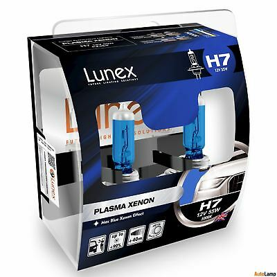 Lunex Platinum Blue H3 Car Headlight Bulb 4700K Twin